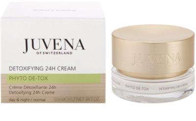 Juvena Phyto De-Tox crema desintoxicante para iluminar y alisar la piel 2
