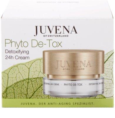 Juvena Phyto De-Tox crema desintoxicante para iluminar y alisar la piel 4