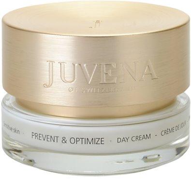 Juvena Prevent & Optimize crema de día calmante  para pieles sensibles