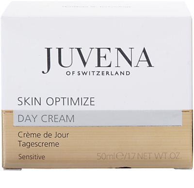 Juvena Prevent & Optimize crema de zi cu efect calmant  pentru piele sensibila 2