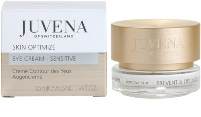 Juvena Prevent & Optimize Augencreme gegen Falten für empfindliche Haut 2
