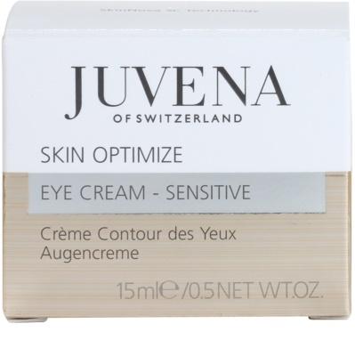 Juvena Prevent & Optimize Augencreme gegen Falten für empfindliche Haut 4