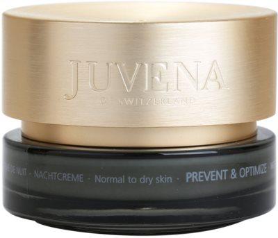 Juvena Prevent & Optimize нічний крем проти зморшок для нормальної та сухої шкіри