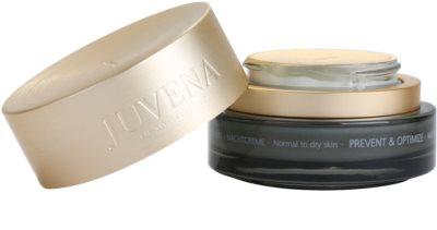 Juvena Prevent & Optimize creme de noite antirrugas para pele normal a seca 1