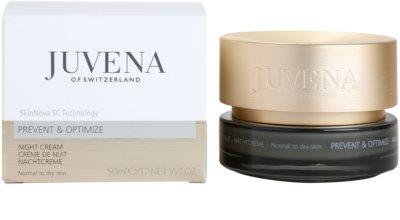 Juvena Prevent & Optimize creme de noite antirrugas para pele normal a seca 2