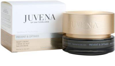 Juvena Prevent & Optimize creme de noite antirrugas para pele normal a seca 3