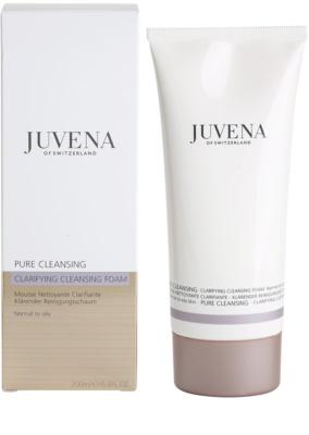 Juvena Pure Cleansing очищаюча пінка для нормальної та жирної шкіри 1