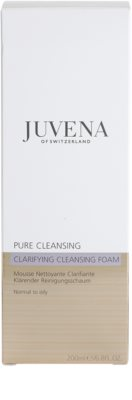 Juvena Pure Cleansing очищаюча пінка для нормальної та жирної шкіри 3