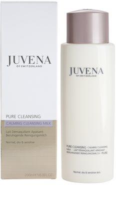 Juvena Pure Cleansing leite de limpeza para pele normal a seca 1