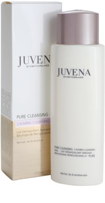 Juvena Pure Cleansing tisztító tej normál és száraz bőrre 2