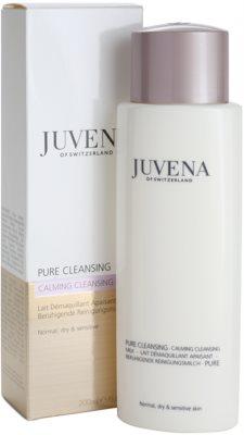 Juvena Pure Cleansing leite de limpeza para pele normal a seca 2