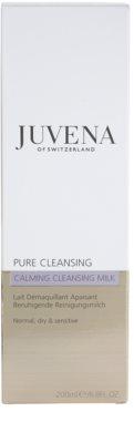 Juvena Pure Cleansing leite de limpeza para pele normal a seca 3