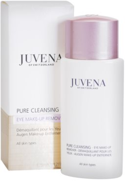 Juvena Pure Cleansing płyn do demakijażu oczu 1