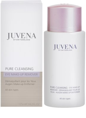 Juvena Pure Cleansing płyn do demakijażu oczu 2