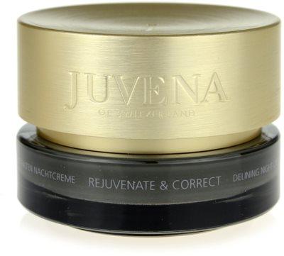 Juvena Skin Rejuvenate Delining creme de noite antirrugas para pele normal a seca