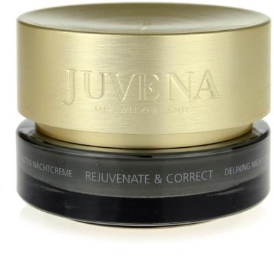 Juvena Skin Rejuvenate Delining Nachtcreme gegen Falten für normale und trockene Haut