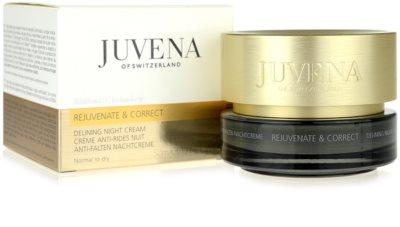 Juvena Skin Rejuvenate Delining Nachtcreme gegen Falten für normale und trockene Haut 3