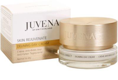 Juvena Skin Rejuvenate Delining crema de día  antiarrugas  para pieles normales y secas 3