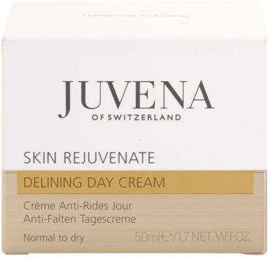 Juvena Skin Rejuvenate Delining crema de día  antiarrugas  para pieles normales y secas 4