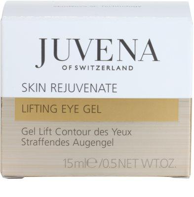 Juvena Skin Rejuvenate Lifting żel pod oczy z efektem liftingującym 4