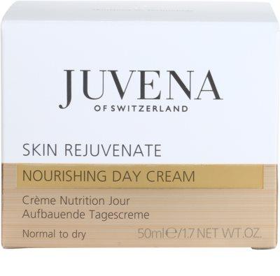 Juvena Skin Rejuvenate Nourishing odżywczy krem na dzień do skóry normalnej i suchej 4