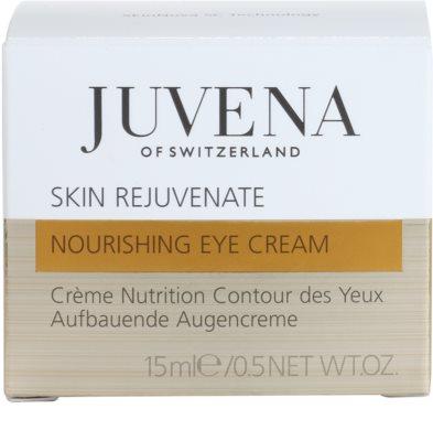 Juvena Skin Rejuvenate Nourishing крем проти зморшок для шкіри навколо очей для всіх типів шкіри 4