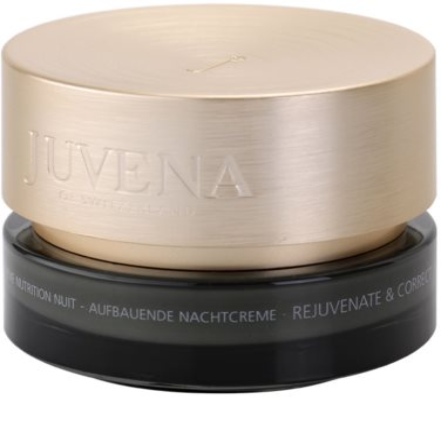Juvena Skin Rejuvenate Nourishing crema de noche antiarrugas  para pieles normales y secas