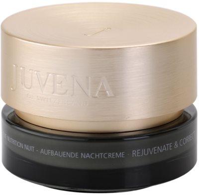 Juvena Skin Rejuvenate Nourishing creme de noite antirrugas para pele normal a seca