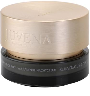 Juvena Skin Rejuvenate Nourishing éjszakai ránctalanító krém normál és száraz bőrre