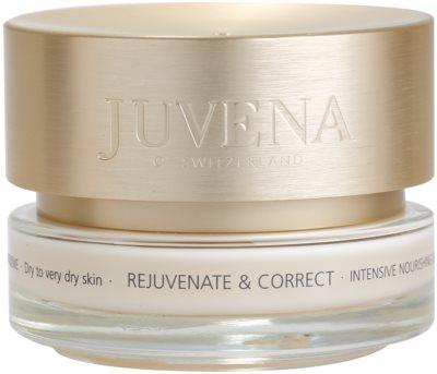 Juvena Skin Rejuvenate Nourishing crema de zi cu efect de refacere uscata si foarte uscata