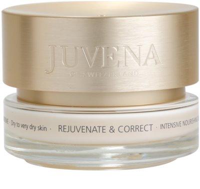Juvena Skin Rejuvenate Nourishing tápláló nappali krém száraz és nagyon száraz bőrre