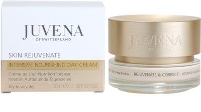 Juvena Skin Rejuvenate Nourishing tápláló nappali krém száraz és nagyon száraz bőrre 2