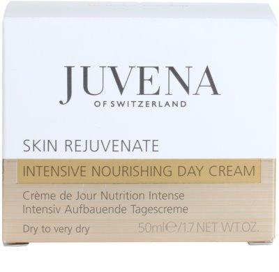 Juvena Skin Rejuvenate Nourishing crema de zi cu efect de refacere uscata si foarte uscata 4