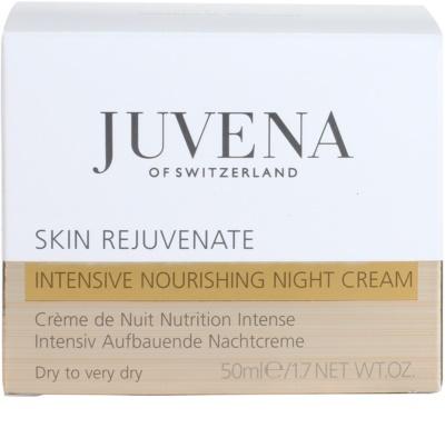 Juvena Skin Rejuvenate Nourishing crema de noapte hidratanta ten uscat 4