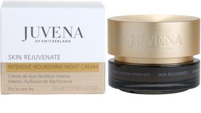 Juvena Skin Rejuvenate Nourishing crema de noapte hidratanta ten uscat 2