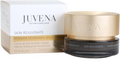 Juvena Skin Rejuvenate Nourishing crema de noapte hidratanta ten uscat 3