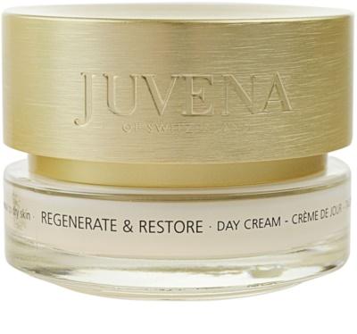 Juvena Regenerate & Restore creme de dia revitalizante e renovador da pele para pele normal e seca