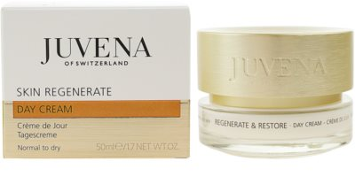 Juvena Regenerate & Restore crema de zi revitalizanta si regeneratoare pentru piele normala si uscata 1
