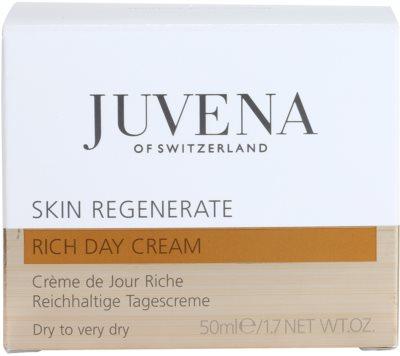 Juvena Regenerate & Restore creme de dia para pele seca a muito seca 4