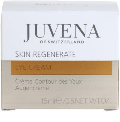 Juvena Regenerate & Restore creme rejuvenescedor de olhos para pele madura 4