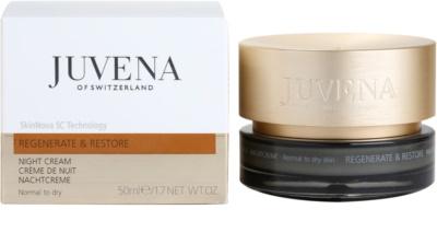 Juvena Regenerate & Restore Festigende regenerierende Nachtcreme für normale und trockene Haut 2