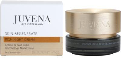 Juvena Regenerate & Restore нощен обогатяващ и хидратиращ крем  за суха или много суха кожа 2