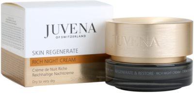 Juvena Regenerate & Restore нощен обогатяващ и хидратиращ крем  за суха или много суха кожа 3