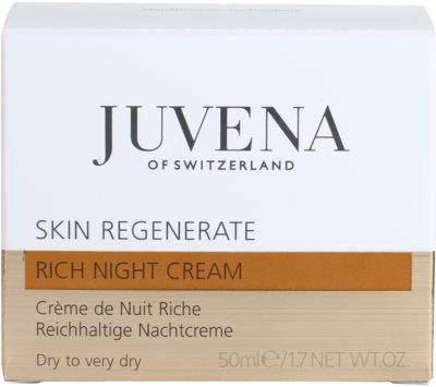 Juvena Regenerate & Restore нощен обогатяващ и хидратиращ крем  за суха или много суха кожа 4