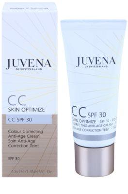 Juvena Skin Optimize CC Creme mit verjüngender Wirkung SPF 30 1