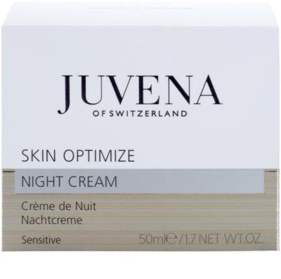 Juvena Skin Optimize noční krém pro citlivou pleť 3
