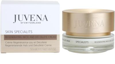 Juvena Specialists regenerierende Creme für Hals und Dekolleté 2
