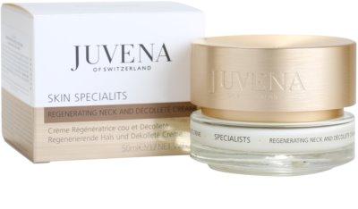 Juvena Specialists regenerierende Creme für Hals und Dekolleté 3