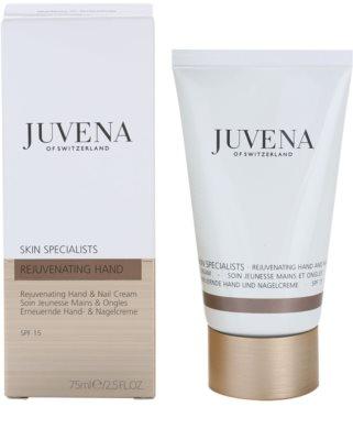 Juvena Specialists Schutzcreme für Hände und Fingernägel 1