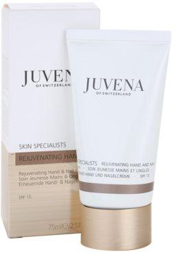 Juvena Specialists Schutzcreme für Hände und Fingernägel 2